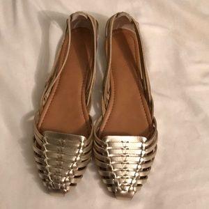 🆕 Jcrew Gold Sandals